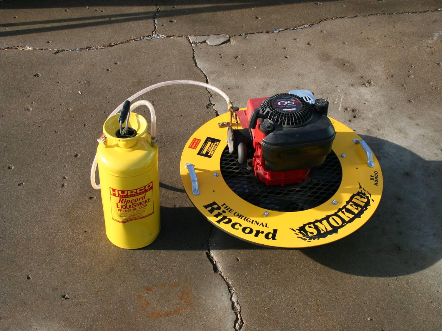 Cherne Air-Loc Smoke Testing Products Sewer Equipment - Seca